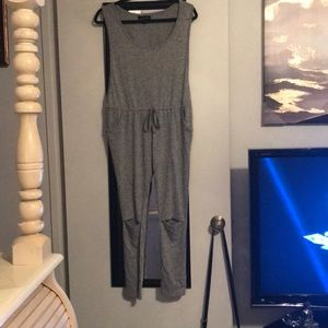 Grey Jumpsuit (New Without Tags)
